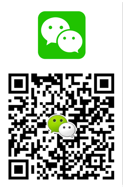 Contact us on Wechat